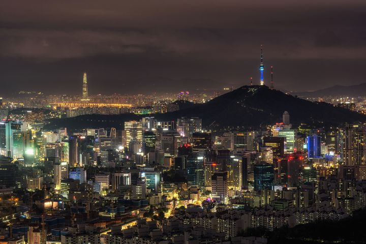 The city of lights - Aaron Choi Photography