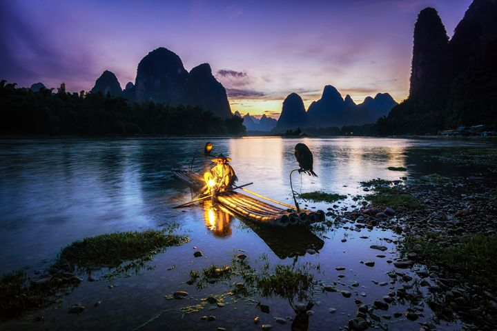 The Cormorant Fisherman - Aaron Choi Photography