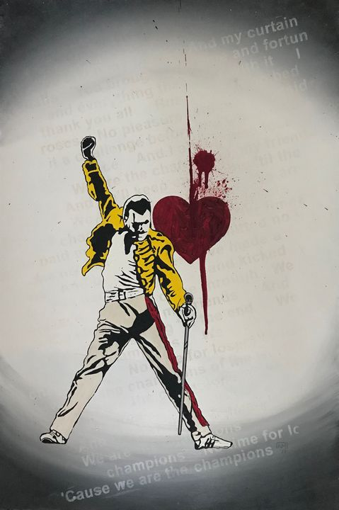 We Are The Champions (After Banksy) - Narelle Mulrooney