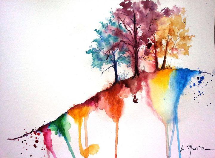 three trees - Ana Mariño