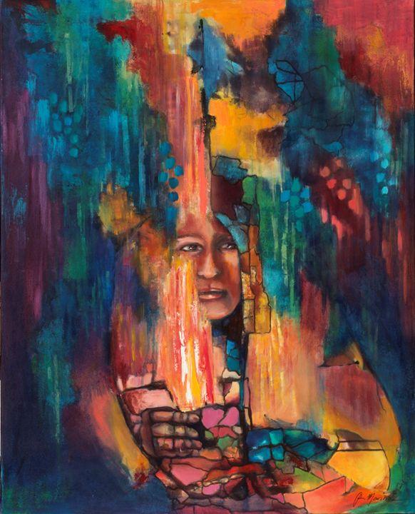 Misterious eyes - Ana Mariño