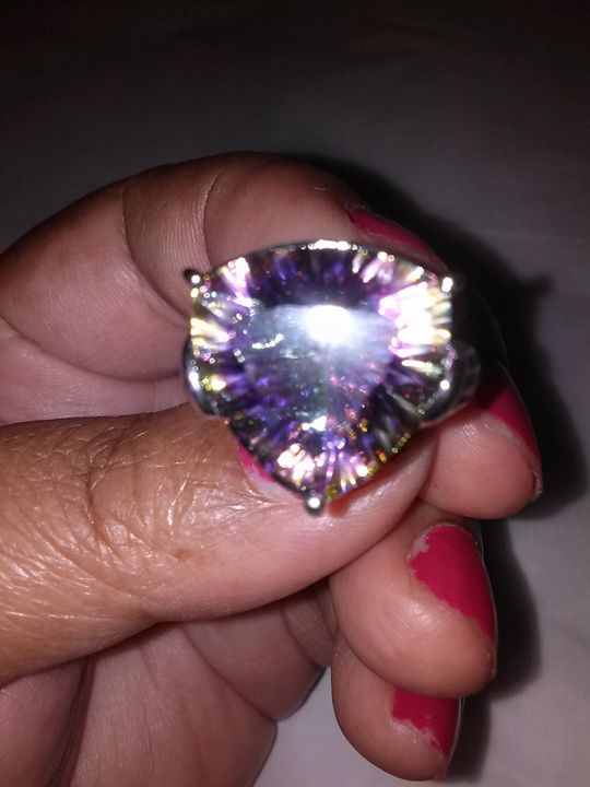Royal Purple Splendor Ring - Art by Pal