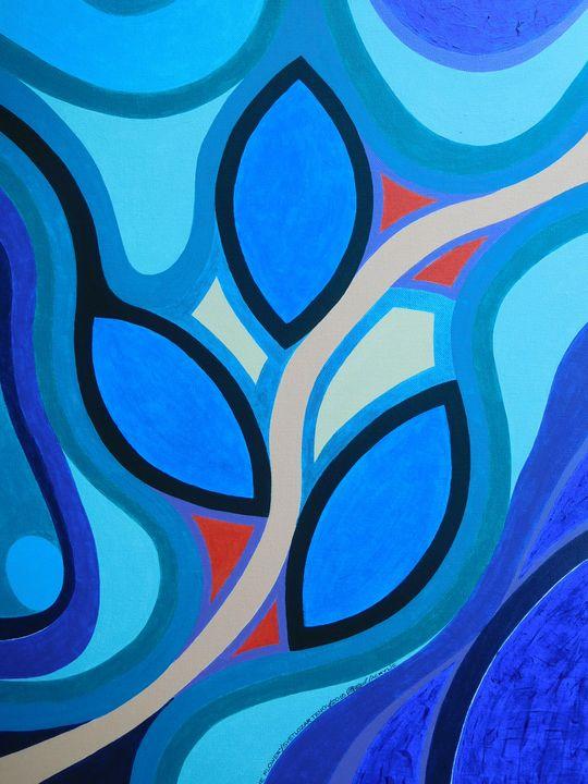Blue flower - ZorroTen