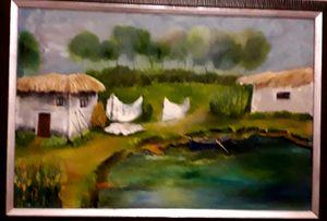 Fisherman's village - Ludmila Zhivkova