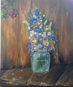 Bouquet with dew, - Ludmila Zhivkova