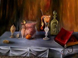 Cocktail with tangerine, - Ludmila Zhivkova