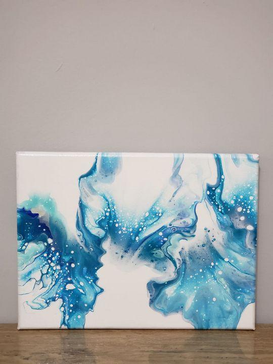 #4 Ocean Color Painting - Vispa's Art