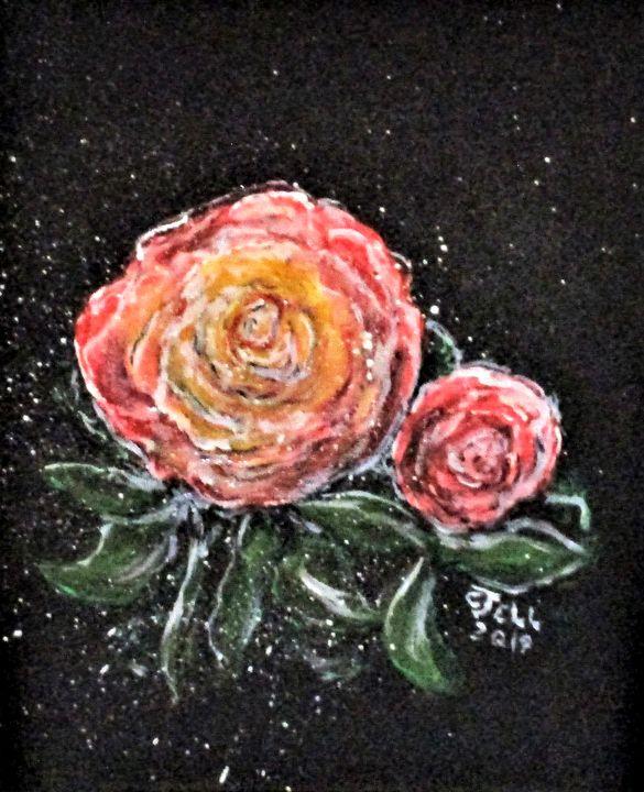 Rose In Light - CJ Kell Art Work