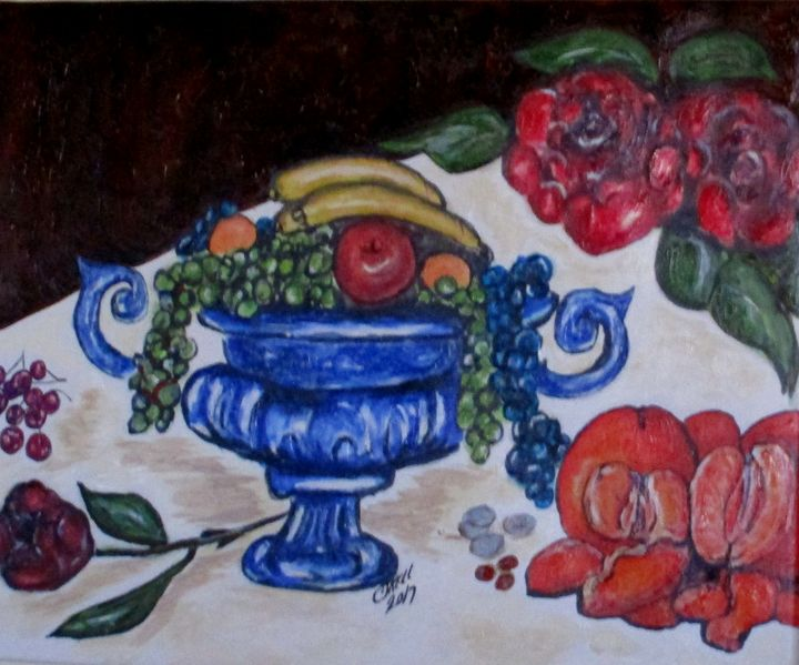 Fruits Of Life - CJ Kell Art Work