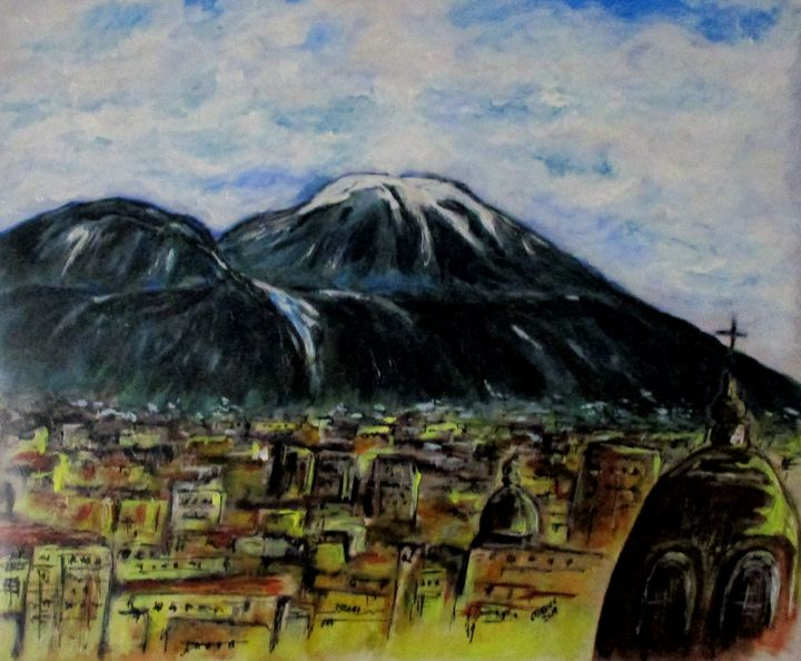 Majestic Vesuvio - CJ Kell Art Work