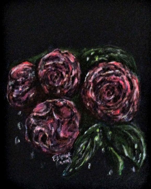 Flower Tears No1. - CJ Kell Art Work