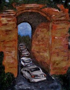 Arco Felice Traffic Jam