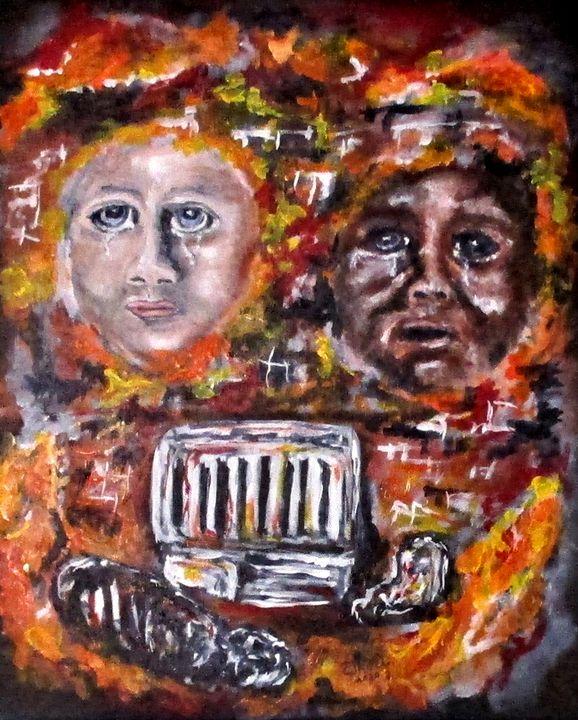 Vandalized Legacy - CJ Kell Art Work