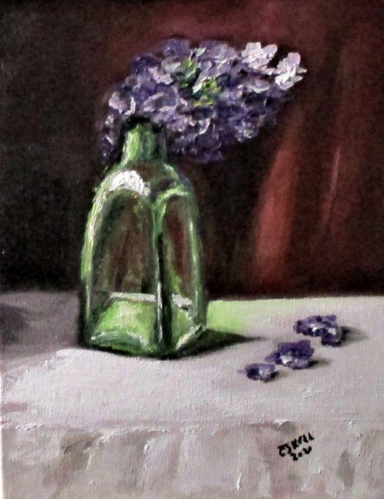 Bottled Purple - CJ Kell Art Work
