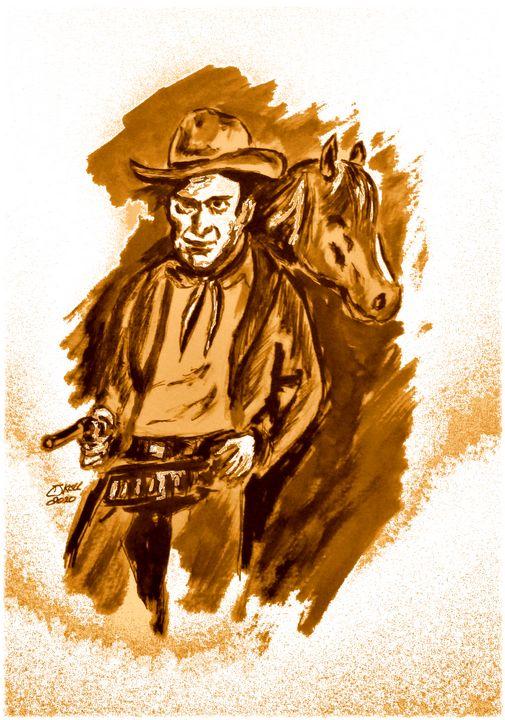 Six Shooter No1. - CJ Kell Art Work
