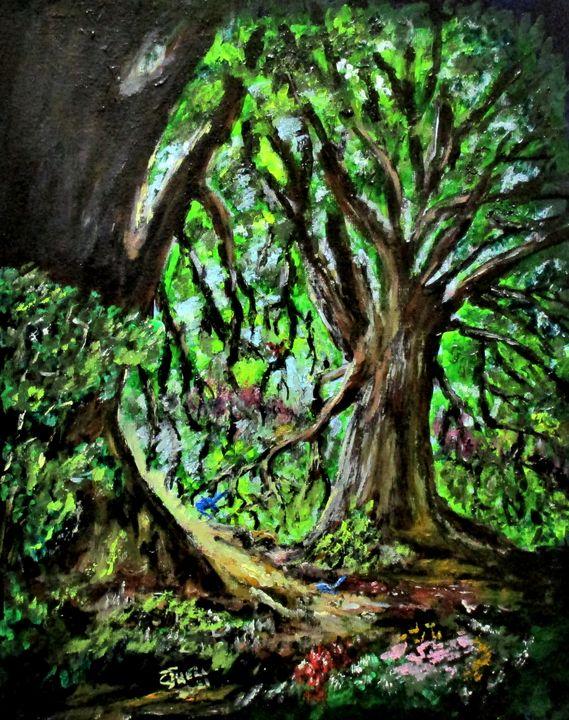 Magical Forest - CJ Kell Art Work