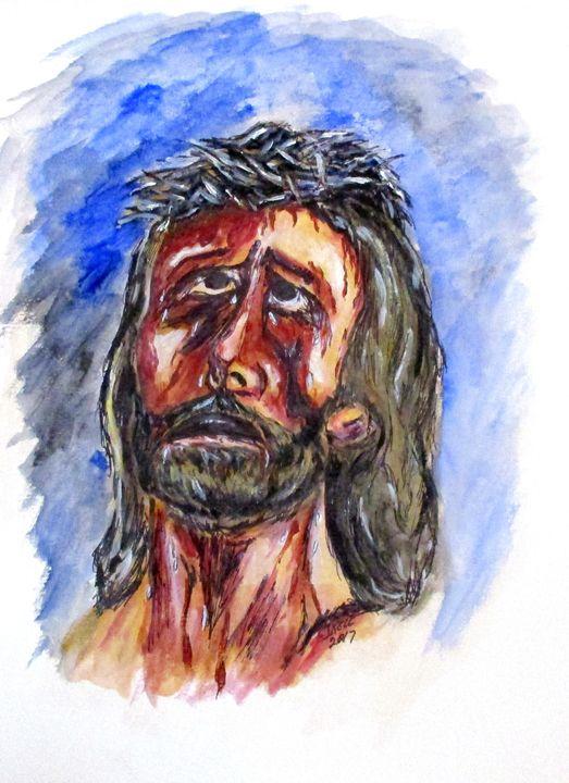 Father Forgive Them - CJ Kell Art Work