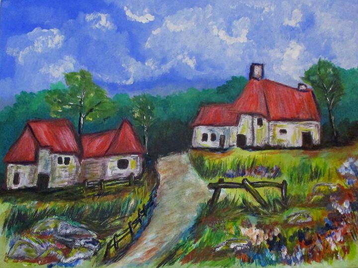 Abandoned Farm - CJ Kell Art Work