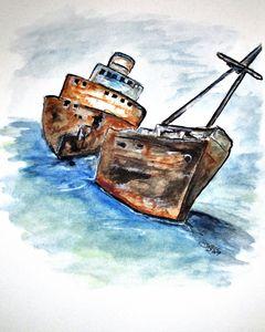 Wrecked Shipper