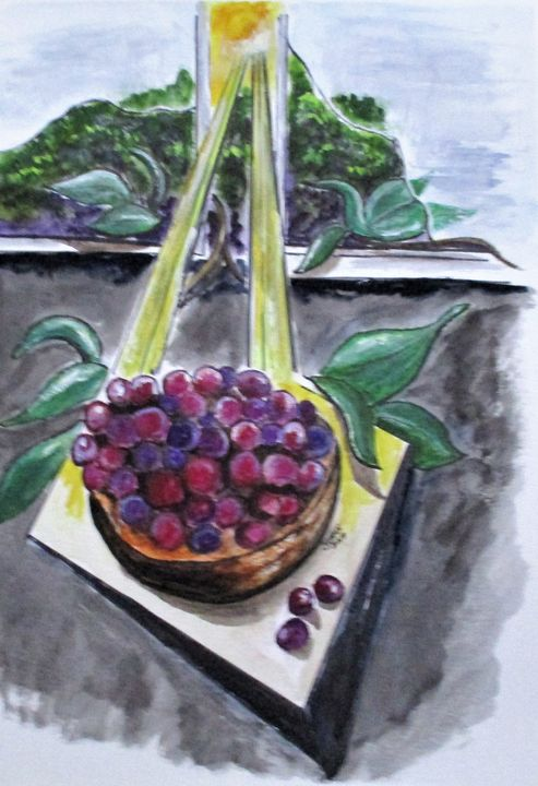 Dreams Of Grapes - CJ Kell Art Work