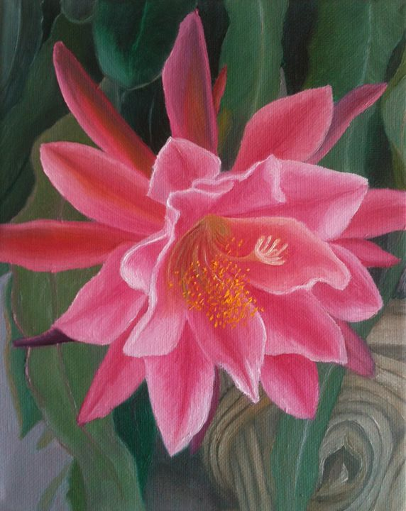Pink Flower - Glad's Art Gallery