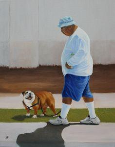 Man with Dog 4