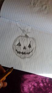 hallowen pumkin