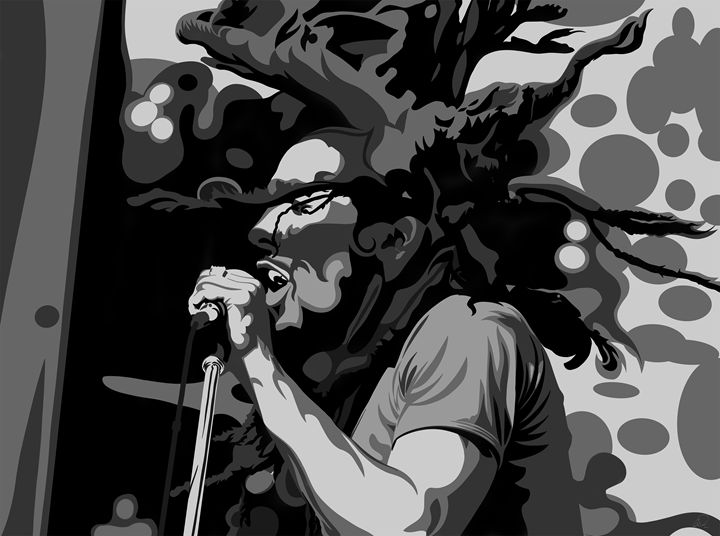 Bob Marley - Jordanart