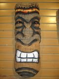 Hand Carved Wall Tiki