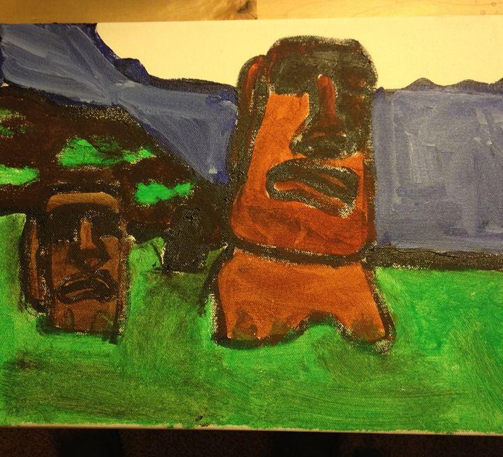 Easter Island - A glimpse through autism
