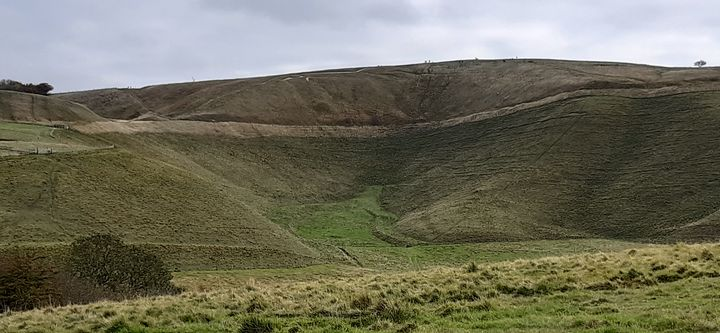 Wiltshire and its white horse - Lauraartist68