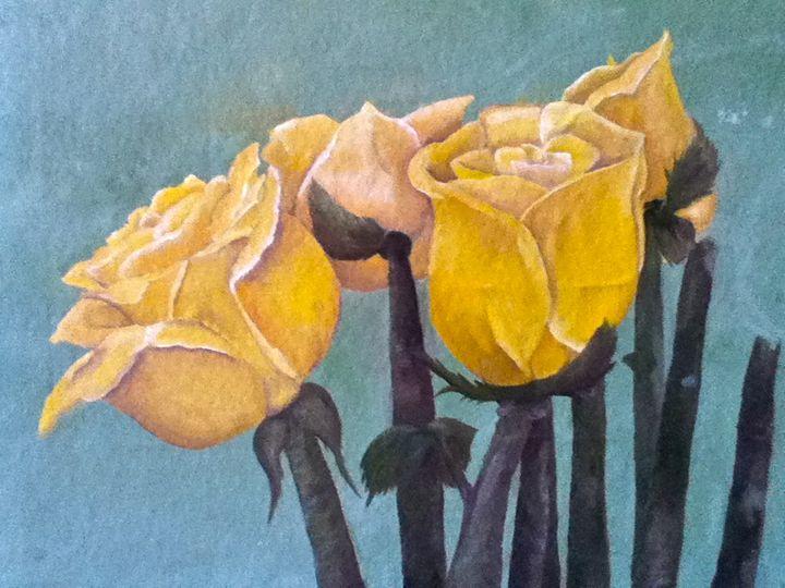 Yellow Rose - Zee
