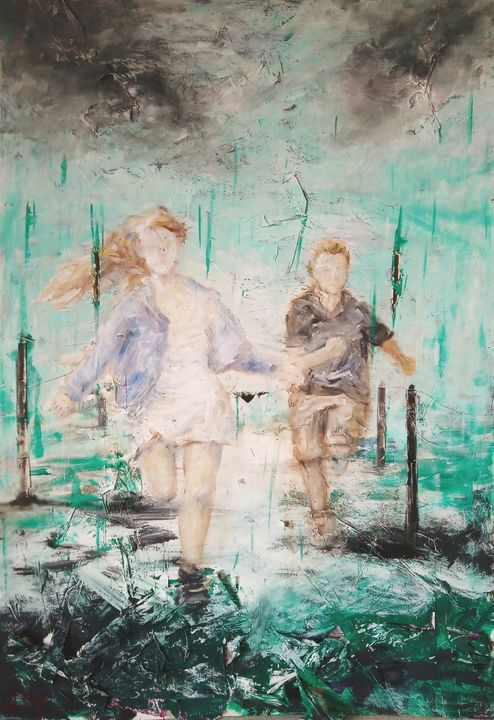 Running through the rain - Daniel Wille