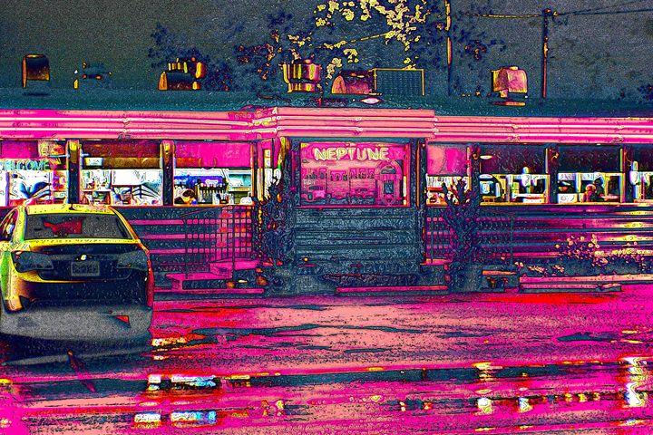 Neon Diner - Nicole Oshen's Work