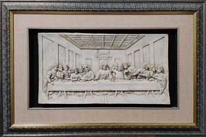 The Last Supper 3D Plastic Painting