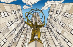 Atlas at the Rockefeller - SimonArtonline