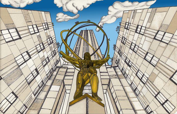 Atlas at the Rockefeller - SimonArtonline