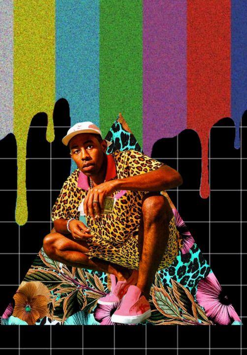 Tyler The Creator - ArtCollage