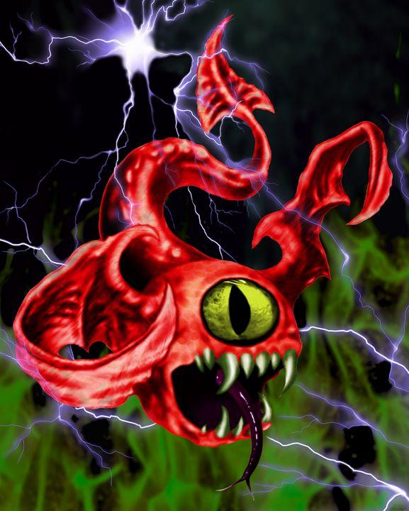 the evil - fotisdigitalart