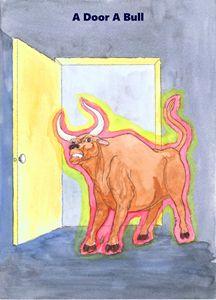 A Door A Bull