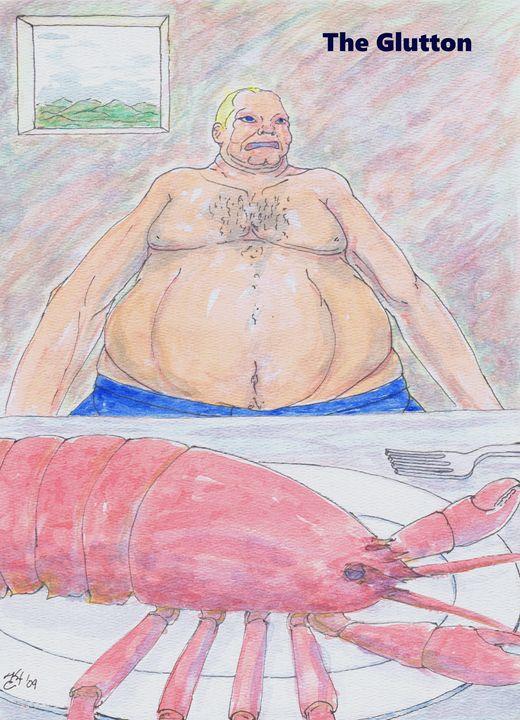 The Glutton - K.C.Higgins