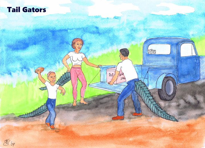 Tail Gators - K.C.Higgins