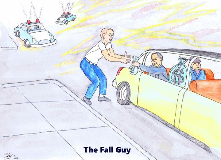 The Fall Guy - K.C.Higgins