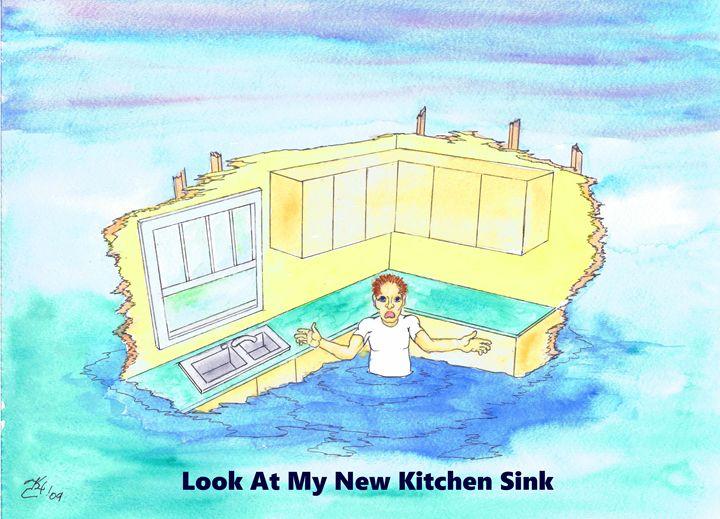 Look At My New Kitchen Sink - K.C.Higgins