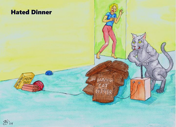 Hated Dinner - K.C.Higgins