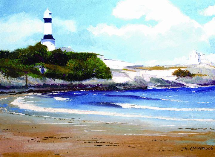 Shrove Lighthouse, Ireland - Joe Campbell Art