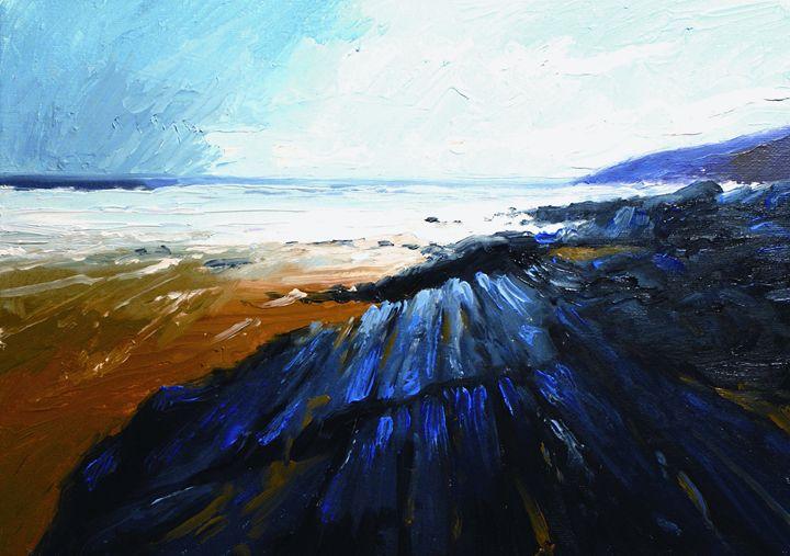 Stormy Shores at Greencastle - Joe Campbell Art
