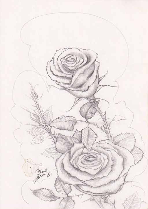 Simple Rose - Simply Drew