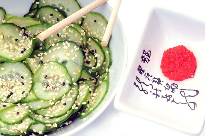 Japanese Salad. - photography