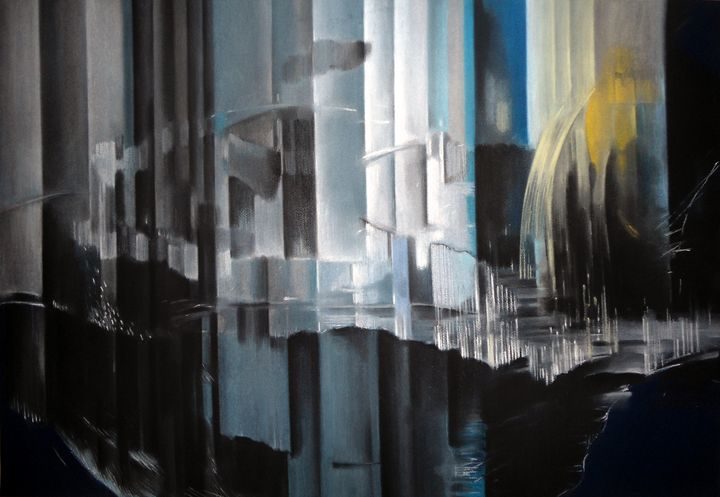 'Night city' - Velina Grebenska